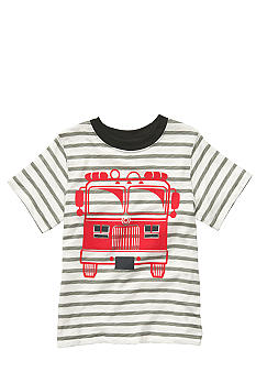 Carter's Stripe Firetruck Tee Toddler Boys
