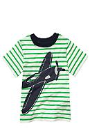 Carter's® Stripe Plane Tee Toddler Boy