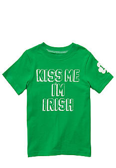 "Carter's ""Kiss Me I'm Irish"" Tee Toddler Boys"