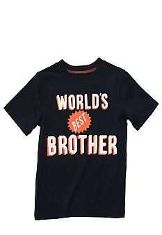 "Carter's ""World's Best Brother"" Tee Toddler Boys"