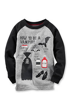 Carter's Toddler Long-Sleeve Vampire Tee