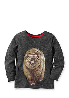 Carter's Toddler Long-Sleeve Bear Graphic Tee