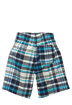 Carter's Blue Plaid Shorts Toddler Boy