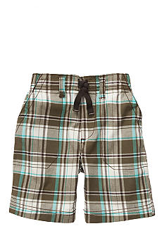 Carter's Brown Plaid Shorts Toddler Boy