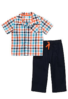 Carter's® 2-Piece Plaid Pant Set Toddler Boys