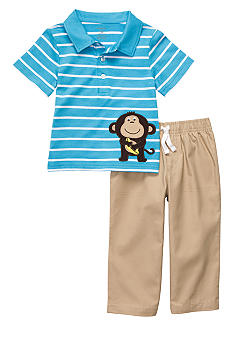 Carter's Monkey 2-Piece Pant Set Toddler Boys