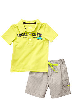 Carter's Polo and Short Set Toddler Boy