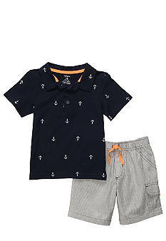 Carter's Anchor Short Set Toddler Boy