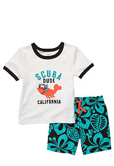 Carter's Scuba Dude Short Set Toddler Boys