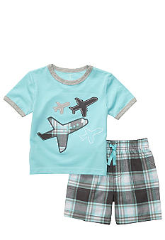 Carter's Plane Short Set Toddler Boy