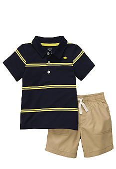 Carter's Polo And Short Set Toddler Boys