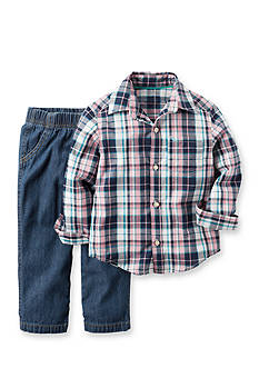 Carter's 2-Piece Shirt & Denim Set Toddler Boys