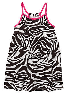 Carter's Zebra Print Dress Toddler Girls