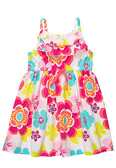 Carter's Floral Print Dress Toddler Girls