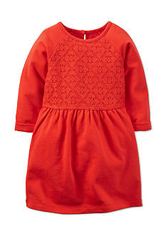 Carter's Lace Knit Dress Toddler Girls