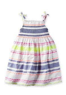 Carter's Multi Stripe Dress Toddler Girls
