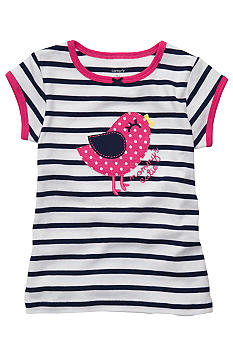 Carter's Stripe Bird Tee Toddler Girl