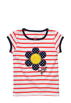 Carter's Stripe Flower Tee Toddler Girl