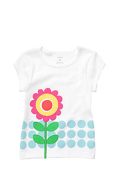 Carter's Flower Tee Toddler Girl