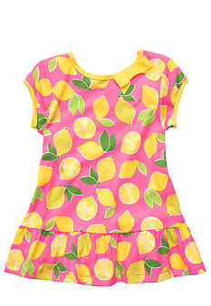 Carter's® Lemon Print Tunic Toddler Girls
