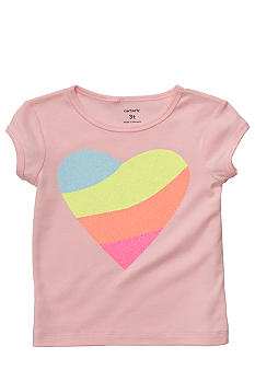 Carter's Heart Tee Toddler Girls