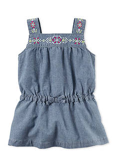 Carter's Chambray Embroidered Tunic Toddler Girls