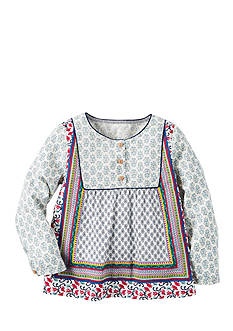 Carter's Mixed Print Boho Top Toddler Girls
