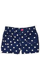 Carter's® Navy Dot Short Toddler Girl