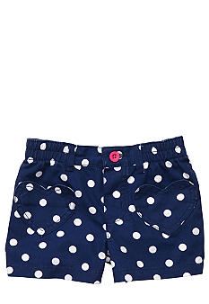 Carter's Navy Dot Short Toddler Girl