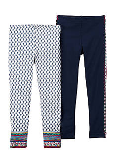 Carter's 2-Pack Boho Leggings Toddler Girls