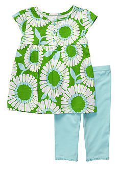 Carter's Big Daisy Capri Set Toddler Girl