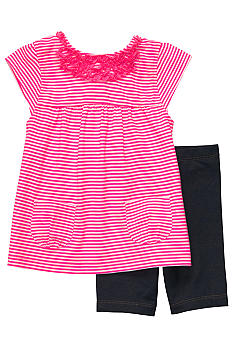Carter's Pink Stripe Set Toddler Girls