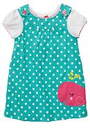 Carter's® Whale Jumper Dress Set Toddler Girls