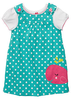 Carter's Whale Jumper Dress Set Toddler Girls