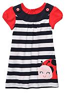 Carter's® Ladybug Jumper Dress Set Toddler Girls