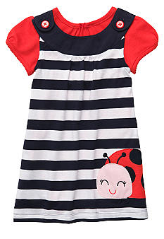 Carter's Ladybug Jumper Dress Set Toddler Girls