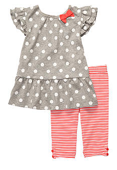 Carter's® Dot Stripe Capri Set Toddler Girl