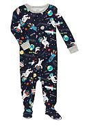 Carter's® Space Print Footed Pajama
