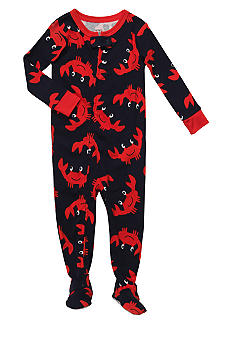Carter's 1-Piece Crabby Footed Pajama