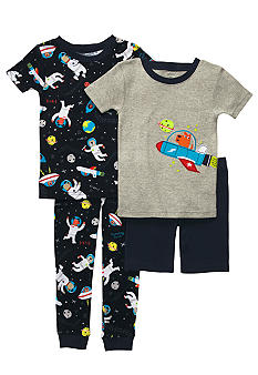 Carter's 4-Piece Space Print Pajama Set