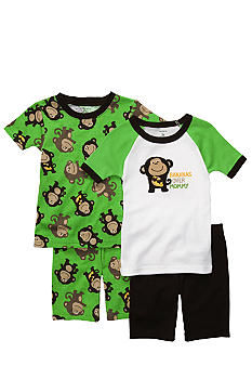 Carter's 4-Piece Bananas Pajama Set