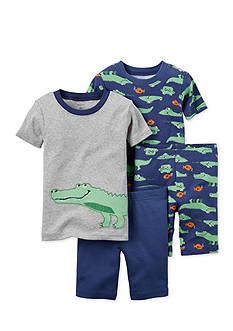 Carter's 4-Piece Alligator Pajama Set