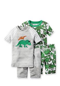 Carter's 4-Piece Dino Pajama Set
