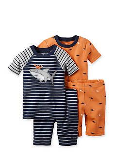 Carter's 4-Piece Shark Pajama Set