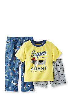 Carter's 3-Piece Agent Dog Pajama Set