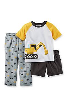 Carter's 3-Piece Tractor Pajama Set