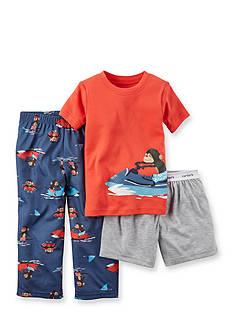 Carter's 3-Piece Surf Monkey Pajama Set