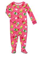 Carter's® Froggie Print Footed Pajama