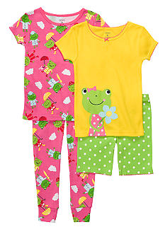 Carter's 4-Piece Froggie Theme PJ Set