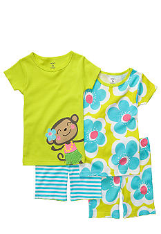 Carter's 4-Piece Monkey Pajama Set